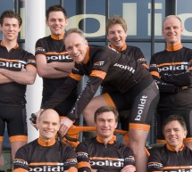 Bolidt Cycling Team in training voor Alp d'HuZes