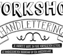 Workshop handlettering in mei