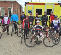 Cycling for Brains' langs  alle 25 ambulanceregio's